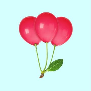 - ballonnen-kersen