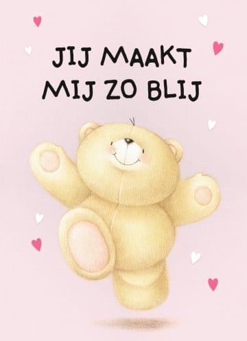 - valentijnskaart-klassiek-forever-friends-jij-maakt-mij-zo-blij