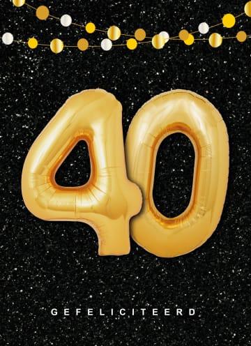 - Verjaardagskaart-leeftijden-40-ballonletters