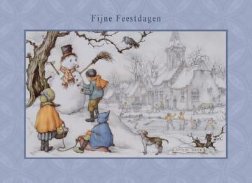 - sneeuw-pop-kinderen