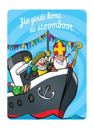 - Sinterklaaskaart-Zie-ginds-komt-de-stoomboot