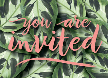 - botanical-uitnodiging-verjaardagsfeest-you-are-invited
