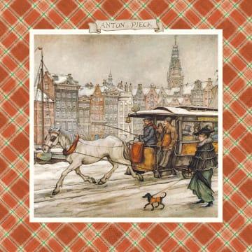 - paarden-tram-winter