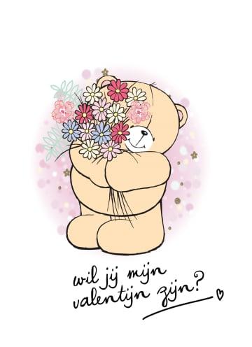 - valentijnskaart-klassiek-forever-friends-wil-jij-mijn-valentijn-zijn