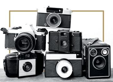 - fotocamera-met-goud-randje