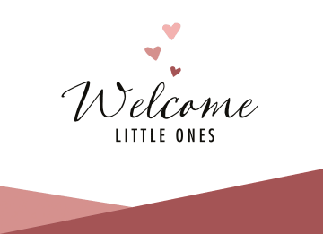 - geboorte-meerling-welcome-little-ones-rood