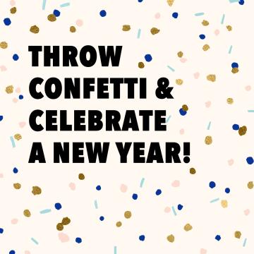 - nieuwjaarskaart-hip-throw-confetti