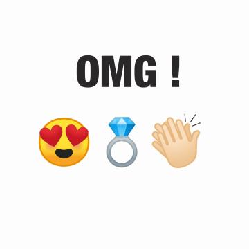 - getrouwd-kaart-emojis-verloofd-omg