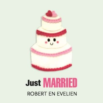 - just-married-blijewolkjes