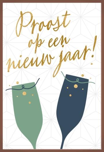 - nieuwjaarskaart-chocolade-proost-op-een-nieuw-jaar