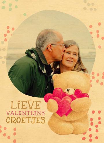 - valentijnskaart-hout-forever-friends-foto-lieve-valentijns-groetjes