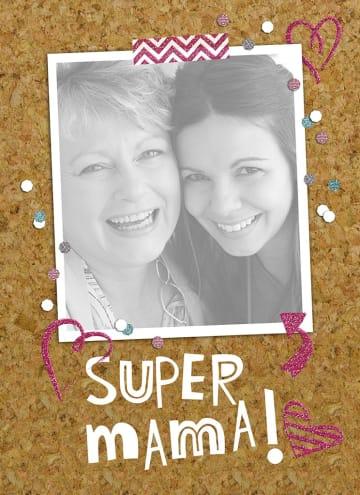 - fotokaart-staand-moederdag-super-mama