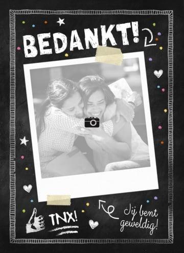 - fotokaart-krijtbord-zwart-wit-bedankt