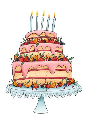 - Gefeliciteerd-kaart-Matia-Studio-grote-taart