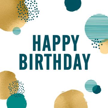 - Verjaardagskaart-man-hip-cirkels