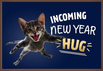 - nieuwjaarskaart-chocolade-incoming-new-year-hug-kat