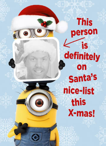 - minion-kerstkaart-santa-nice-list-this-xmas