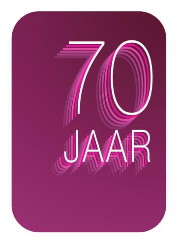 - Verjaardagskaart-70-jaar-karmijn