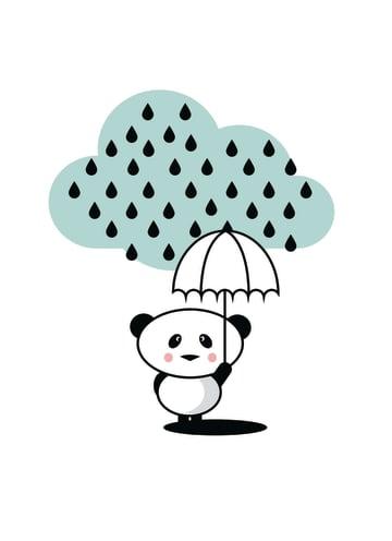 - panda-in-the-rain