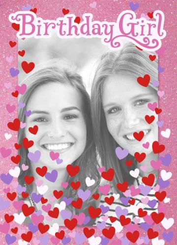 - fotokaart-birthday-girl-roze-met-hartjes