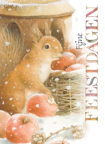 - xmas-marjolein-bastin-eekhoorn-appels-fijne-feestdagen