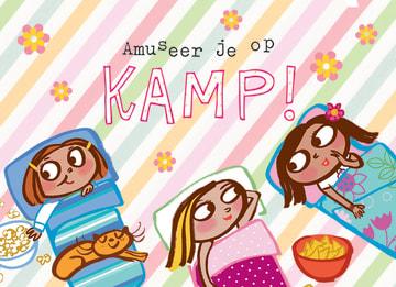 - op-kamp-kaart-voor-meisjes-amuseer-je-op-kamp