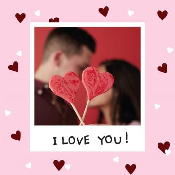 - valentijnskaart-foto-i-love-you-hartjes