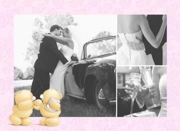 - fotokaart-forever-friends-huwelijk-roze