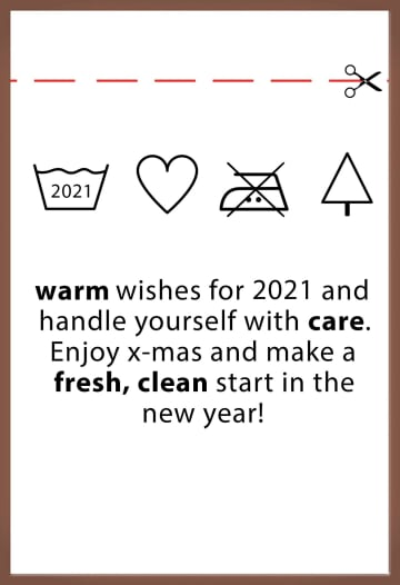 - Kerstkaart-chocolade-grappig-waslabel-warm-wishes