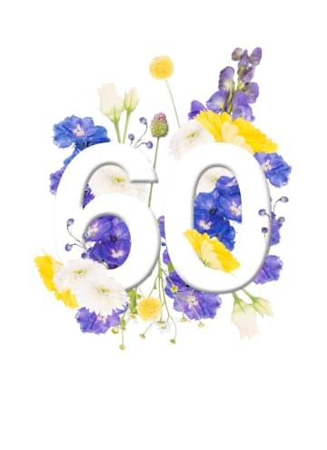- Verjaardagskaart-vrouw-60-jaar-met-bloemen