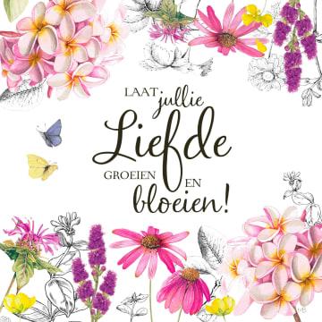 - Kaart-flowers-by-Marjolein-Bastin-Laat-jullie-liefde-groeien