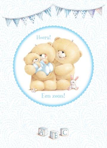 - ouders-met-babybeer-zoon