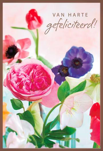 - Chocoladekaart-bloemen-roze