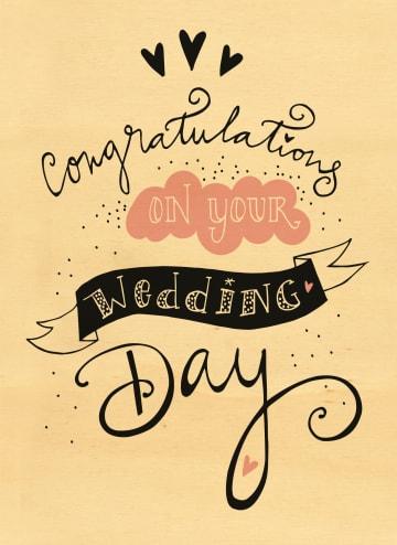 - houten-kaart-congratulations-on-your-wedding-day