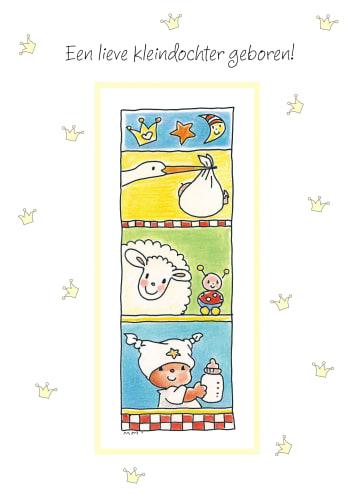 - kleindochter-met-ooievaar-en-schaap