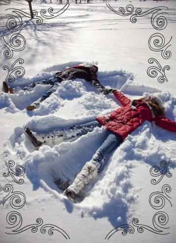 - in-de-sneeuw-liggen
