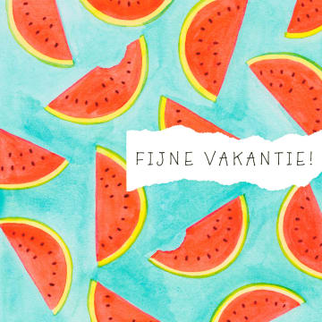 - Zomer-kaart-Meloenen-Fijne-vakantie