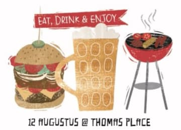 - uitnodiging-etentje-borrel-eat-drink-enjoy