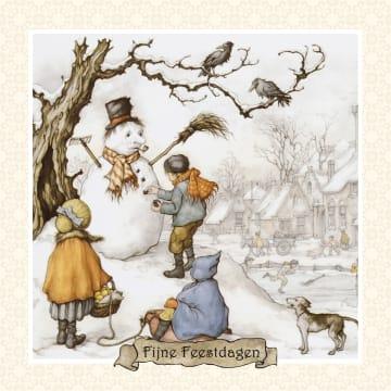 - anton-pieck-sneeuwpop