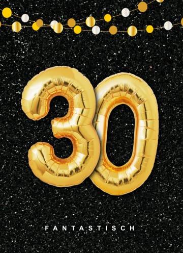 - Verjaardagskaart-leeftijden-30-ballonletters
