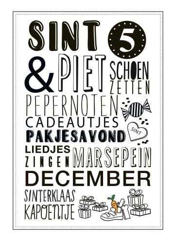 - Sinterklaaskaart-5-december
