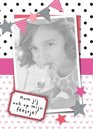 - vrolijke-roze-uitnodiging-voor-kinderfeestje