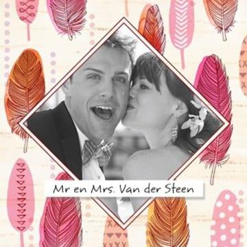 - huwelijk-kaart-veren-fotokader