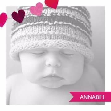 - fotokaart-vierkant-baby-kaart-roze-hartjes