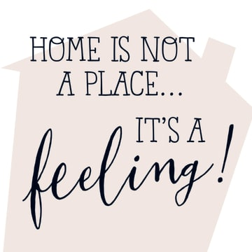 - Home-is-not-a-place