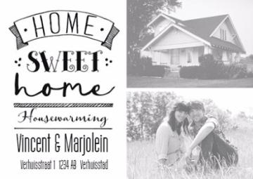 - zwart-wit-home-sweet-home-housewarming-kaart