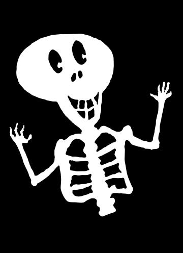 - lachend-skelet