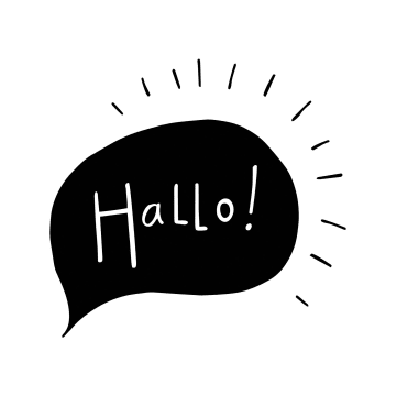 - hallo