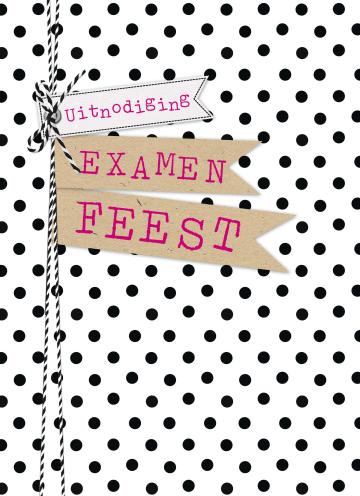 - stippen-uitnodiging-examenfeest