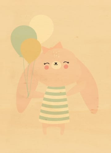 - konijn-ballonnen
